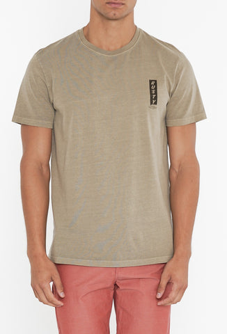 AERIAL SHORT SLEEVE TEE - LIGHT FENNEL