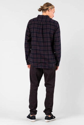 CARTON LONG SLEEVE SHIRT - BLACK