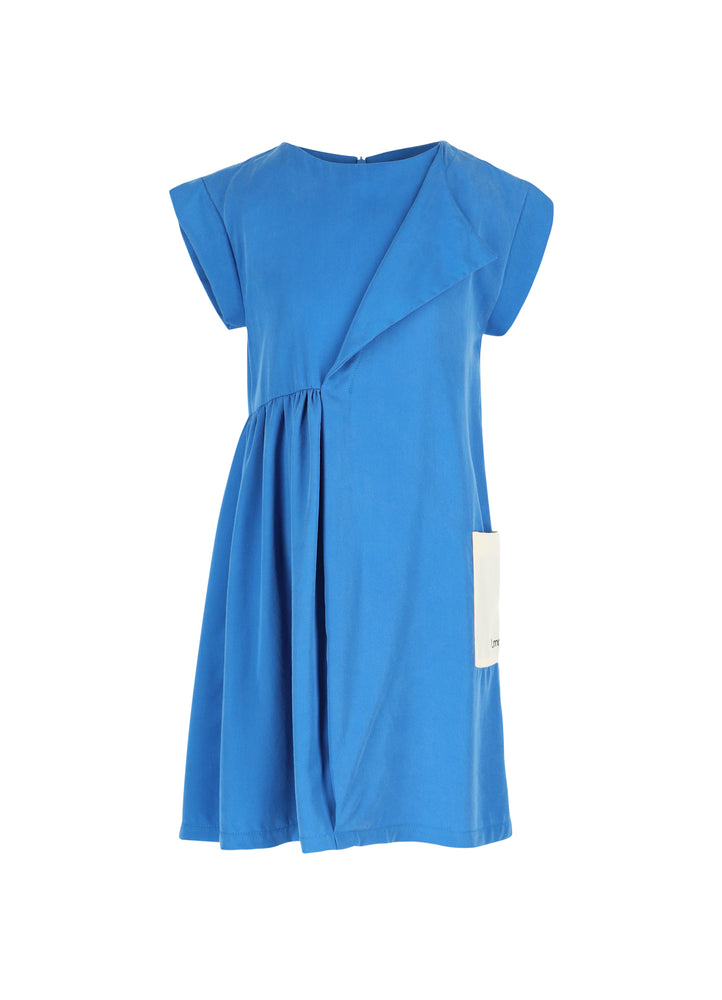 Load image into Gallery viewer, Dress No 2 - Directoire Blue