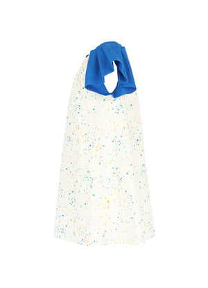 Dress No 6 - Splash Print/Blue
