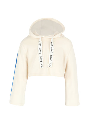 Load image into Gallery viewer, Hoodie No 1 - Eggnog/Blue