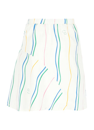 Skirt  No 1 - Wave Print