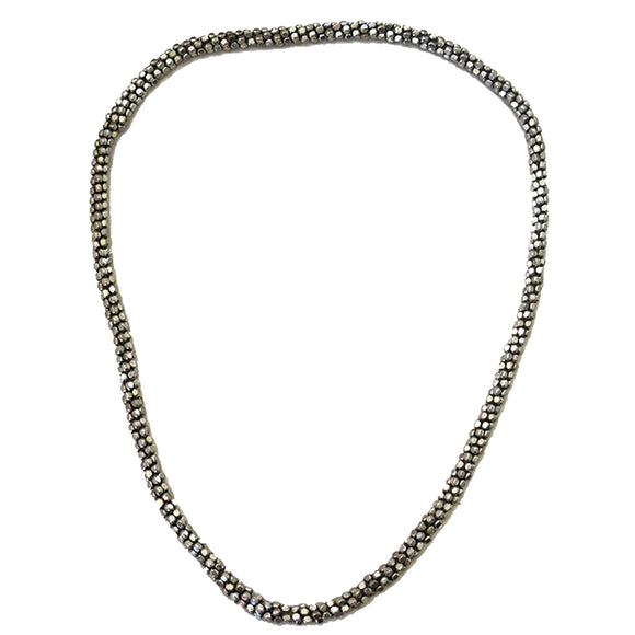 SILVER SHINE CHAIN NECKLACE