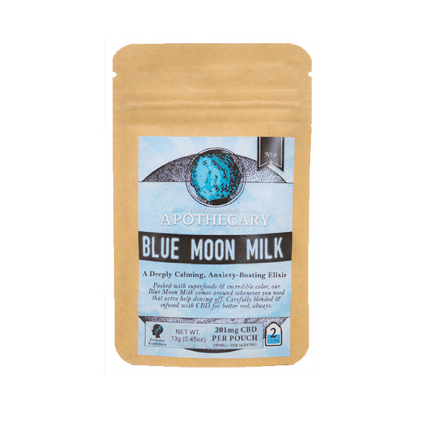 CBD LATTE | BLUE MOON MILK