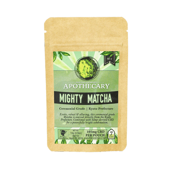CBD LATTE | MIGHTY MATCHA