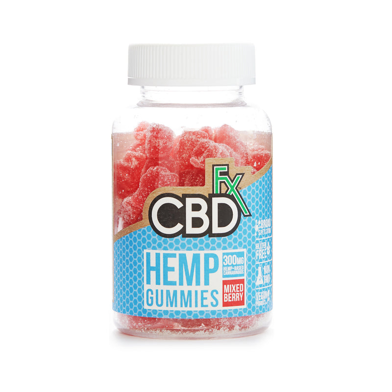 CBD GUMMY BEARS | MIXED BERRY