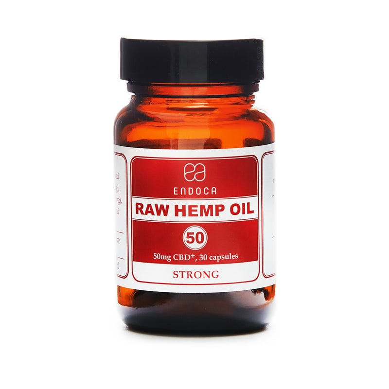 RAW CBD OIL CAPSULES | STRONG 1500MG