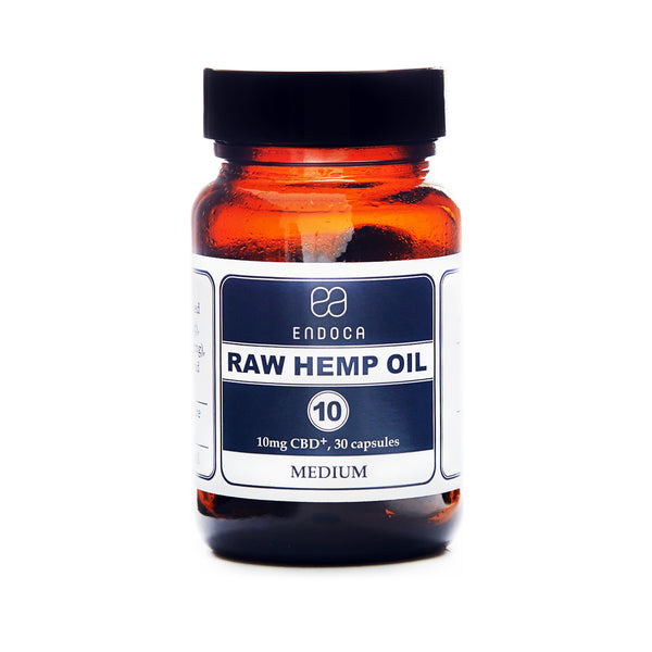 RAW CBD OIL CAPSULES | MEDIUM