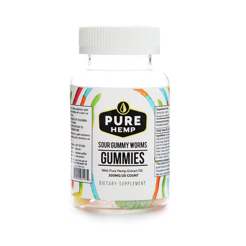 GUMMIES | SOUR WORMS