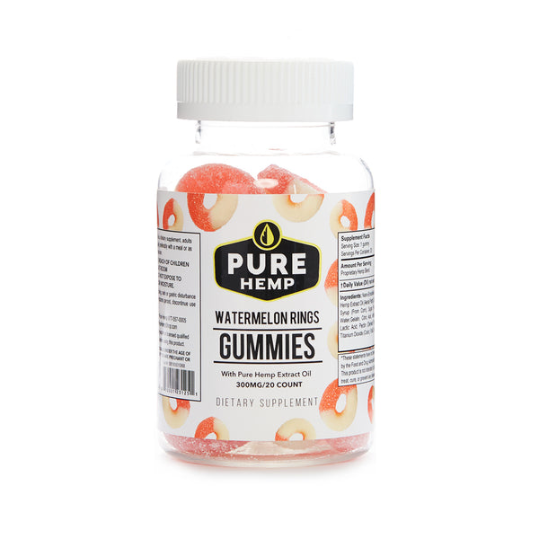 GUMMIES | WATERMELON RINGS