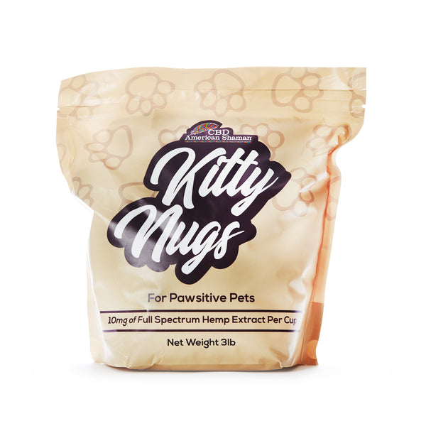 CBD CAT FOOD | KITTY NUGS