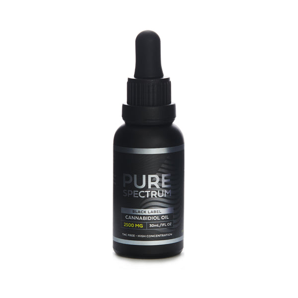 BLACK LABEL CBD OIL TINCTURE | 2500MG-5000MG
