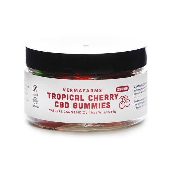 CBD GUMMIES | TROPICAL CHERRY