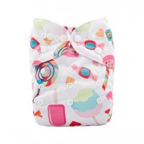 AlvaBaby One Size Summer Sweets Pocket Nappy.