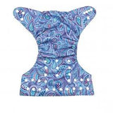 AlvaBaby One Size Paisley Pocket Nappy.