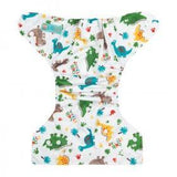 AlvaBaby One Size Jungle Dino Pocket Nappy