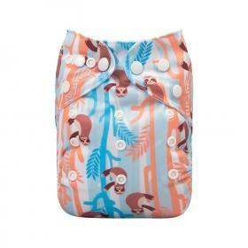 AlvaBaby One Size Sloth Pocket Nappy