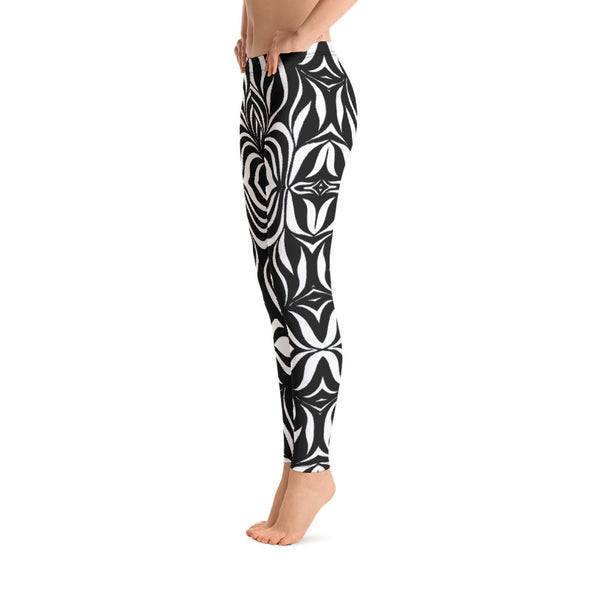 Black & White Drink Your Drink Leggings
