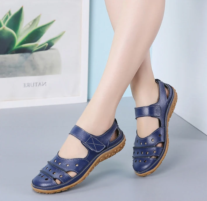 [#1 TRENDING SUMMER 2020] Women's Hollow Hook Flat Sandals