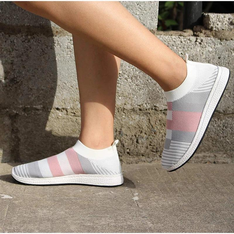 Comfy Vulcanized Casual Walking Sneakers Plus Size