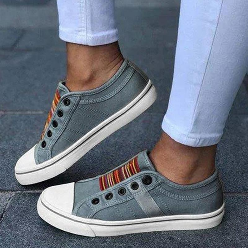 SneakerStreet™ Comfortable Vintage Denim Shoes