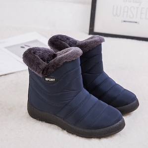 2020 New Ankle Boots For Women Boots Fur Warm Snow Boots