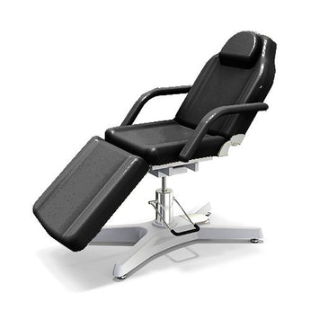 Beauty Spa Chair with 2 Pump - Black