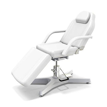 Beauty Spa Chair with 2 Pump -White