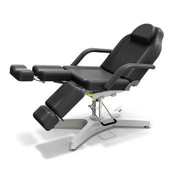 Beauty Spa Chair with 3 Pump - Black