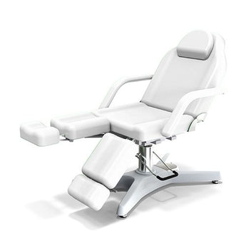Beauty Spa Chair with 3 Pump - White