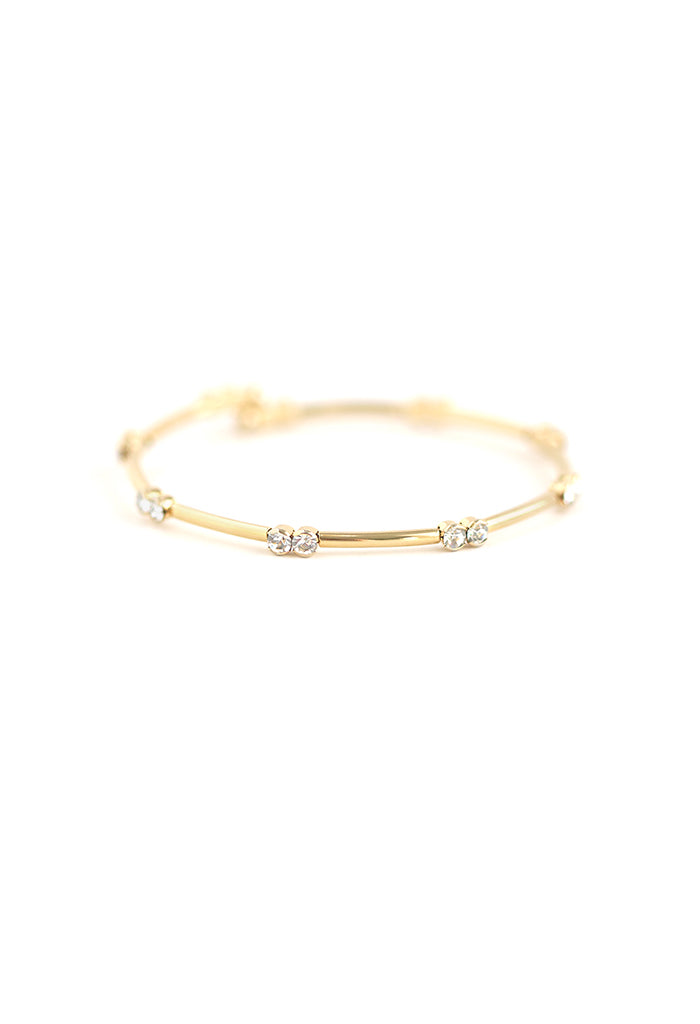 Gemini Crystal Bangle