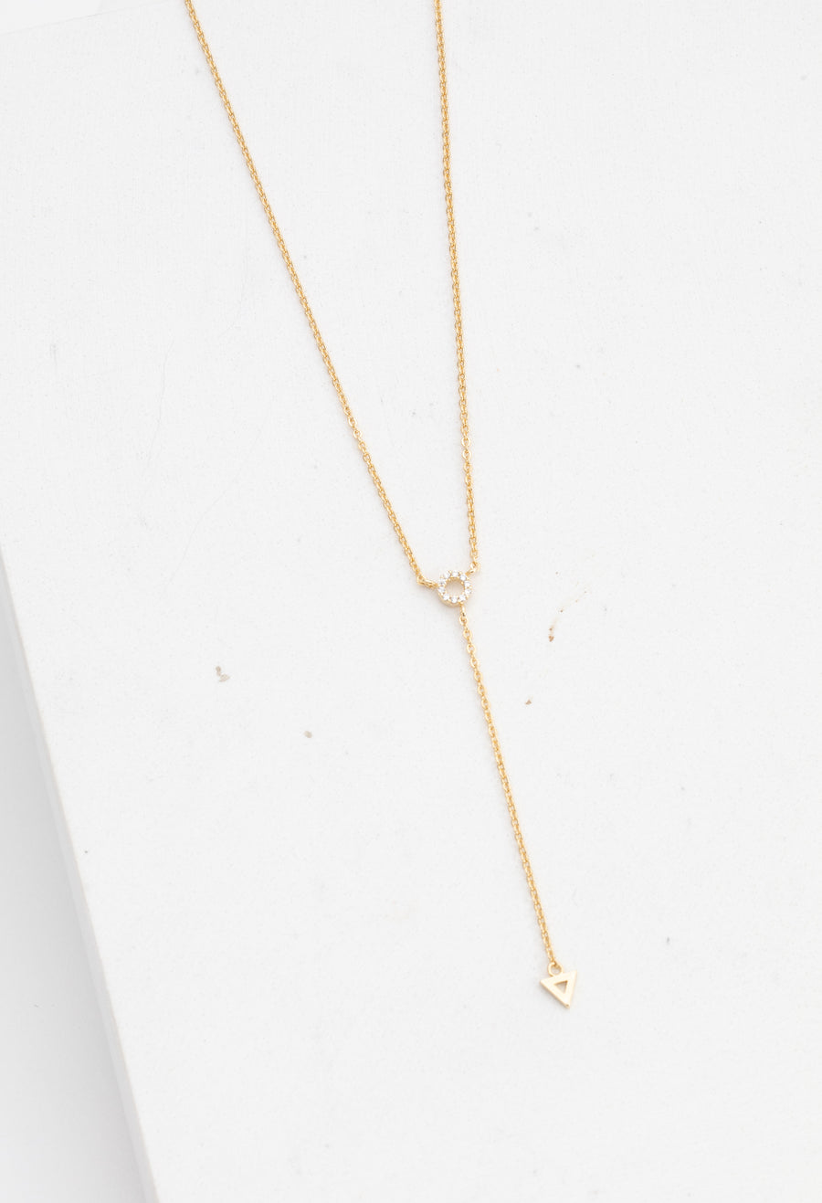 Comme Ci Comme Ca Lariat Necklace