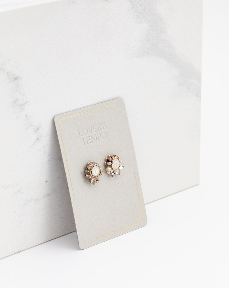 Amelia Crystal Post Earrings