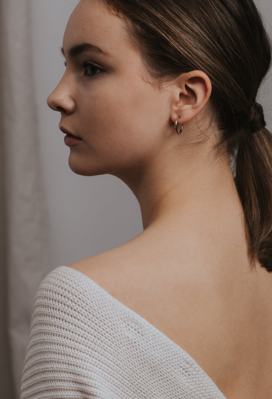 Constance Hoop Earrings
