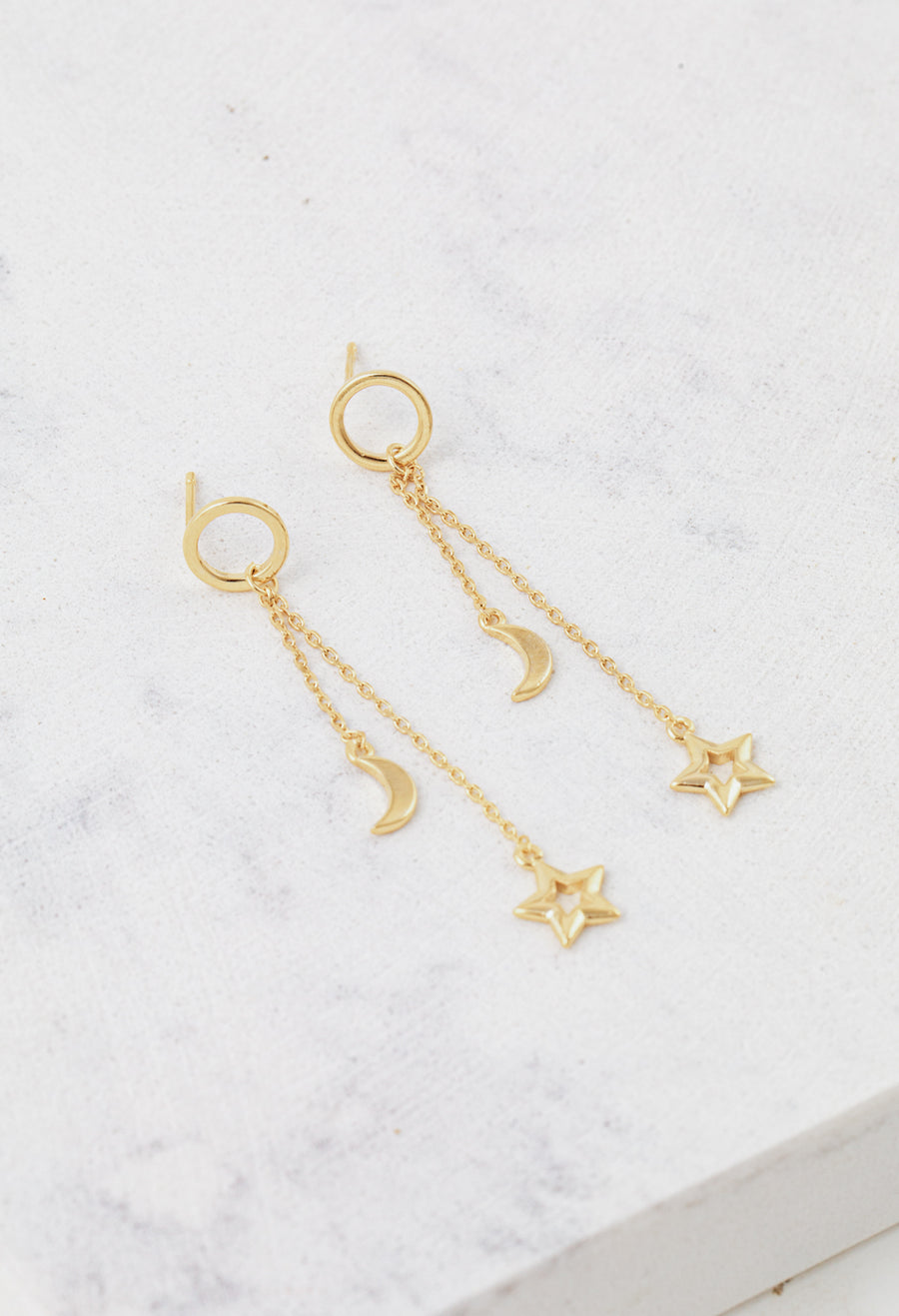 Night Sky Drop Earrings