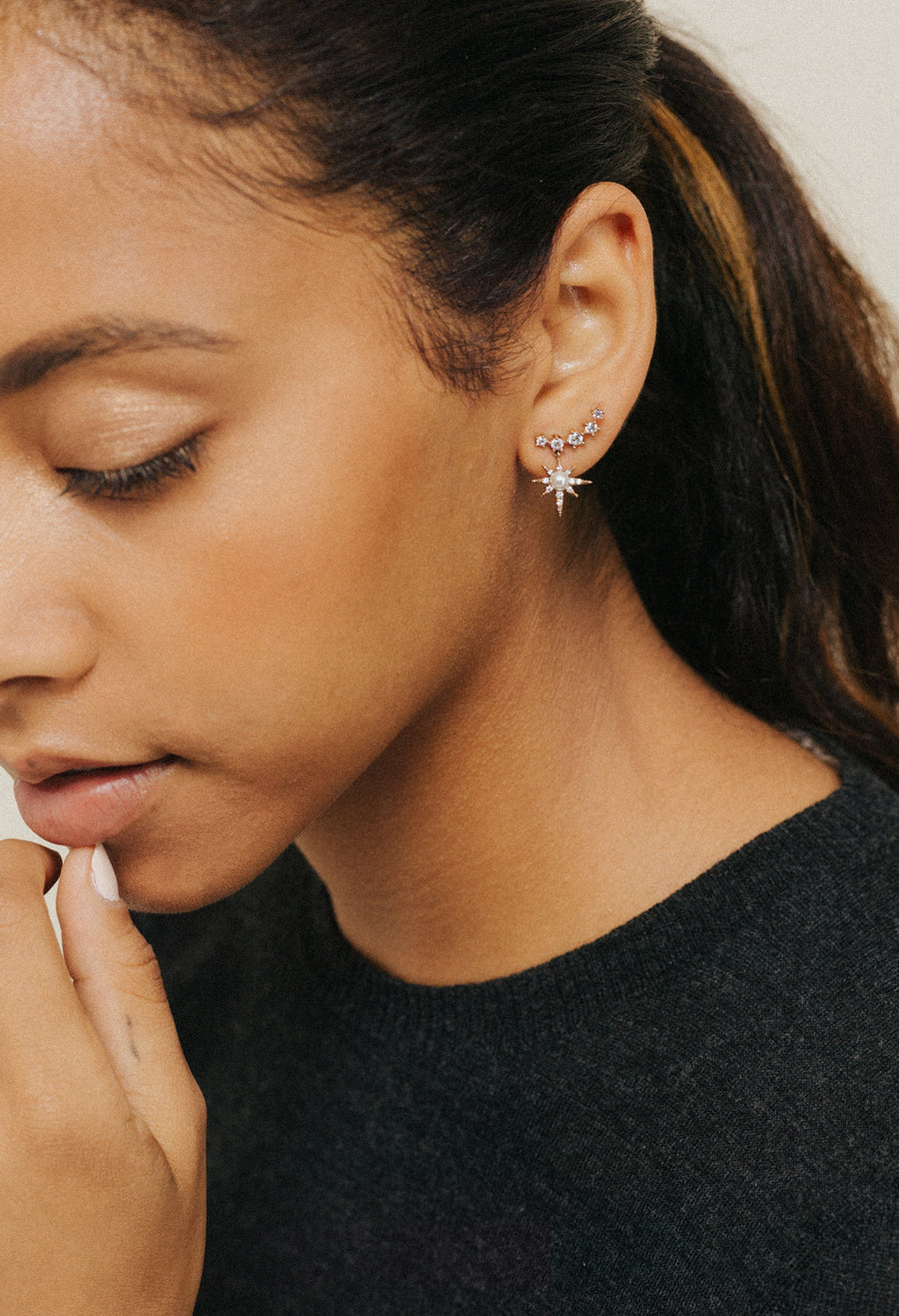 Alaia Climber Earrings
