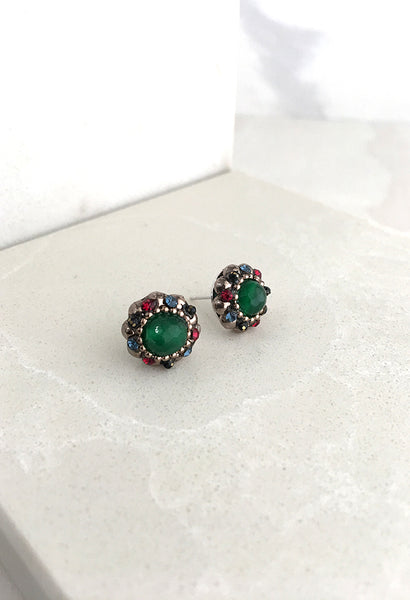 Cluster Stud - Green