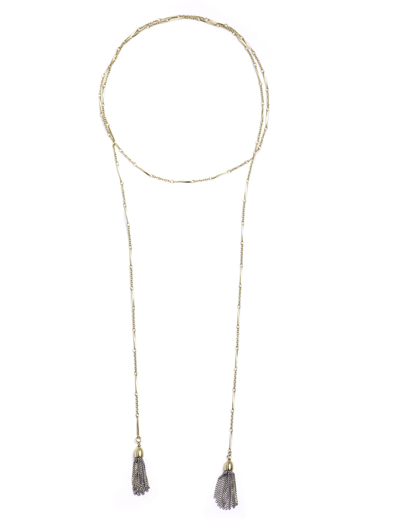 Deja Vu Necklace - Grey