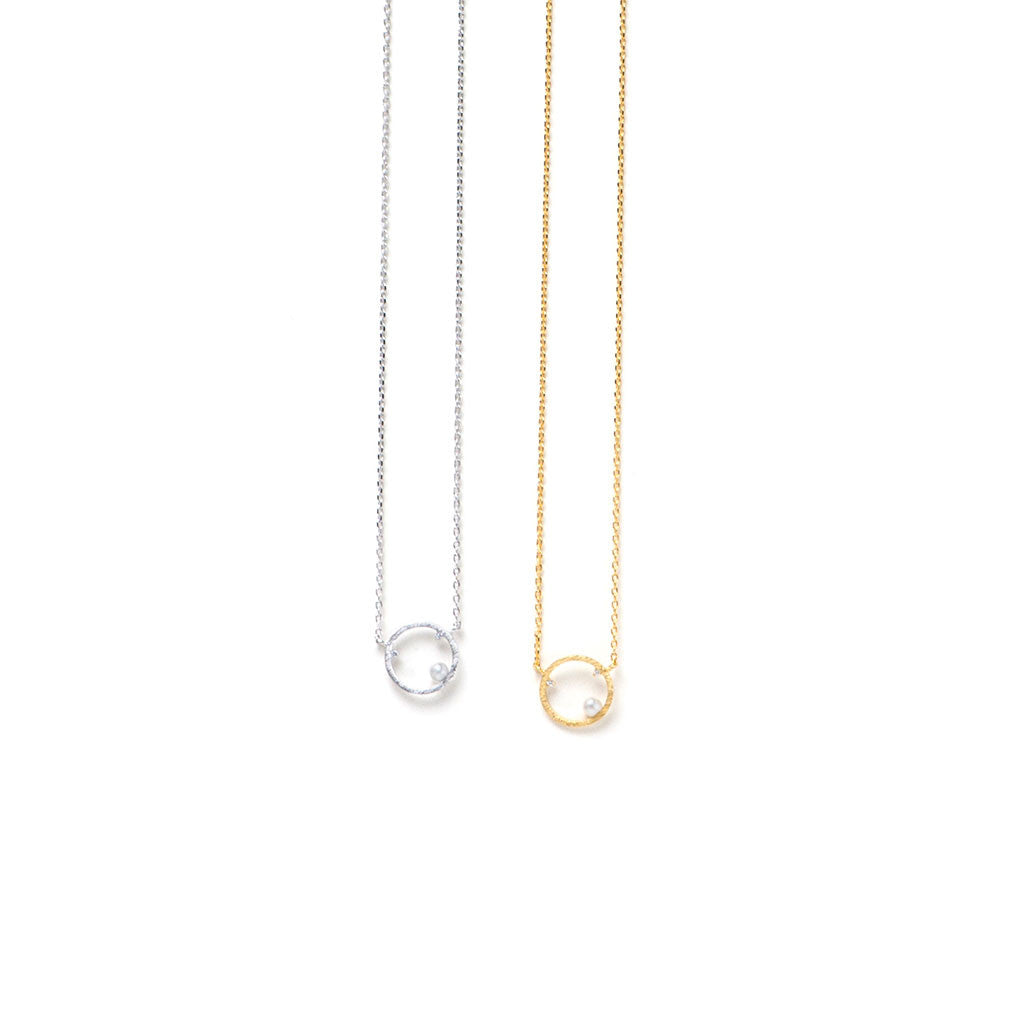 Ellipsis Necklace - Gold