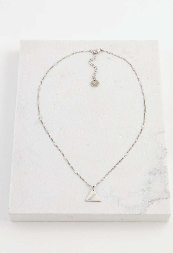 Everly Triangle Necklace