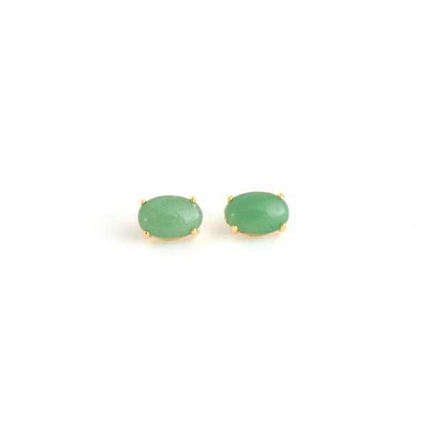 Grace Post Earrings - Mint