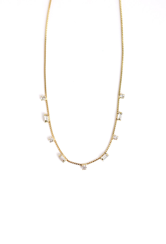 Josie Crystal Necklace