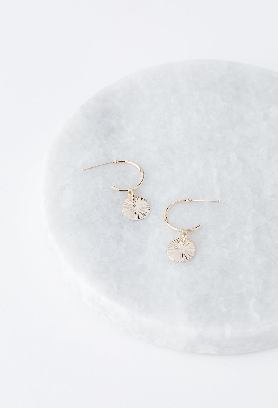 Everly Circle Hoop Earrings