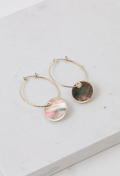 Silvia Hoop Earrings