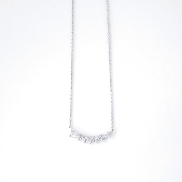 Shooting Star Necklace - Silver