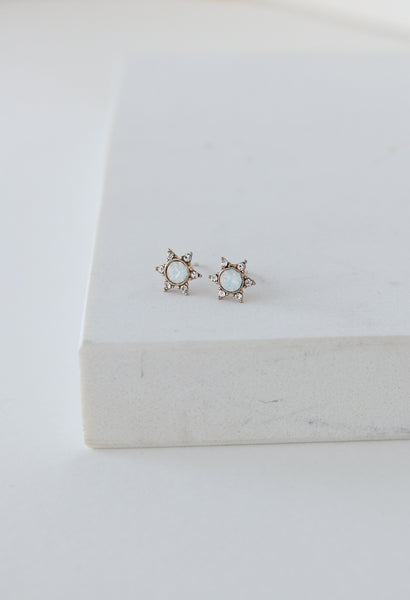 Starlit Stud Earrings