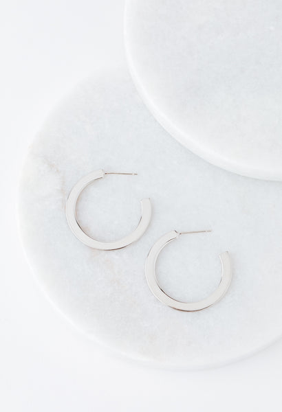 Gloria Large Hoop Earrings