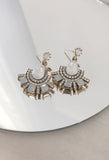 Allegro Fan Drop Earrings