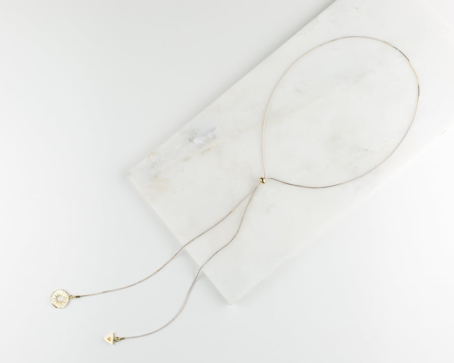 Wayfarer Lariat Necklace