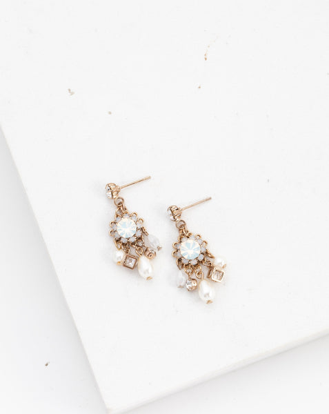 Everly Bar Hoop Earrings